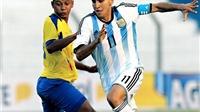 NÓNG: 'Hậu duệ' Messi, Aguero xác nhận đá giao hữu với U20 và U23 Việt Nam