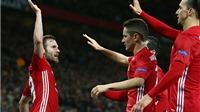 Man United 1-0 Rostov (chung cuộc 2-1): Mata ghi bàn duy nhất, đưa 'Quỷ đỏ' vào tứ kết