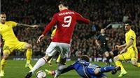 ĐIỂM NHẤN Man United 1-0 Rostov: 'Quỷ đỏ' khổ vì Ibra. Chấn thương của Pogba là cái giá 'quá đắt'