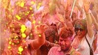 Hà Nội: Triệu khoảnh khắc lễ hội sắc màu Holi Festival