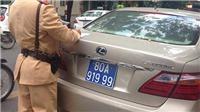 516 biển số xe 80A, 80B của doanh nghiệp bị thu hồi