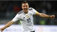 Đức 1-0 Anh: Podolski chia tay bằng cú nã đại bác tuyệt đỉnh