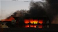 Cần Thơ: Cháy xưởng may, 200 hộ dân phải sơ tán ngay trong đêm