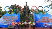 7.000 người Hà Nội tham dự Ngày chạy Olympic 2017