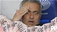 TIẾT LỘ: Mourinho kiếm tiền nhiều GẤP ĐÔI Pep Guardiola