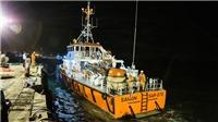 Tàu Hải Thành 26 bị chìm trên biển: Đưa thuyền trưởng thoát chết vào bờ