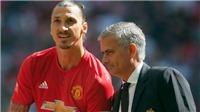 Mourinho: 'Ibra không phải cầu thủ quan trọng. Tôi có lỗi với Schweinsteiger'