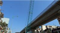 Xác định nạn nhân rơi từ công trường đường sắt đô thị Cát Linh - Hà Đông