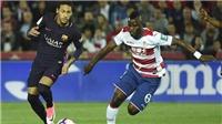 Granada 1-4 Barca: Neymar cán mốc 100 bàn trong ngày Messi vắng mặt, Barca tiếp tục bám đuổi Real