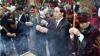 Giổ tổ Hùng Vương 2017: Triệu tấm lòng một dạ tri ân
