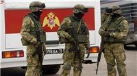 Vừa giết 2 cảnh sát Nga, 4 nghi phạm tấn công tiếp đồn Cận vệ quốc gia và cái kết...