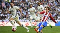 Real Madrid 1–1 Atletico Madrid: Griezmann giữ chân Zidane, tiếp lửa cho Barca