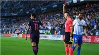 Neymar bị phạt nặng, nghỉ trận Kinh điển vì bị đuổi và trêu tức trọng tài