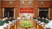 Tổng Bí thư Nguyễn Phú Trọng chủ trì hội nghị Quân ủy Trung ương