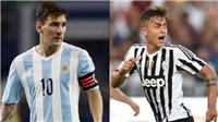 Vì sao Dybala không muốn trở thành Messi mới?