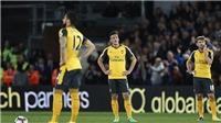 Crystal Palace 3-0 Arsenal: Bệnh cũ tái phát, Pháo thủ dậm chân ở vị trí thứ 6