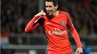 'Siêu phẩm' đá phạt của Di Maria giúp PSG phả hơi nóng vào gáy Monaco