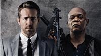 Chết cười cặp 'tình nhân' Ryan Reynolds và Samuel L. Jackson trong phiên bản 'Vệ sĩ' quái gở