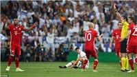 Trọng tài mắc quá nhiều lỗi, Bayern bị loại đầy oan ức