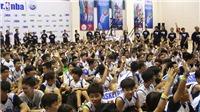 Hàng ngàn trẻ em háo hức cùng ngày hội bóng rổ Jr. NBA