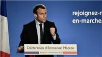 Ứng cử viên 39 tuổi Emmanuel Macron dẫn đầu vòng 1 bầu cử tổng thống Pháp