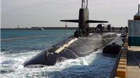 Tàu ngầm Mỹ chở đặc nhiệm SEAL 'mon men' vùng biển Bán đảo Triều Tiên