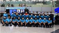Tuyển nữ Việt Nam đã có mặt tại Tajikistan, sắp đá vòng loại giải châu Á