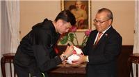 Văn Lâm về Nga thăm gia đình kết hợp tập hồi phục