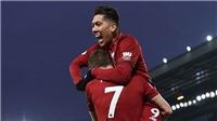 VIDEO Liverpool 4-3 Crystal Palace: Mane, Salah, Firmino lập công, The Kop xây chắc ngôi đầu