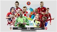 Kèo nhà cáiCroatia vs Cộng hòa Séc. Soi kèo bóng đá EURO 2021. Trực tiếp VTV6