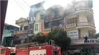 Cháy lớn tại cửa hàng kinh doanh bếp ga, đồ gia dụng tại Thanh Hóa