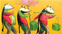 Họa sĩ Kù Kao Khải: Mang 'Cưới chuột' vào tranh, tượng Tết