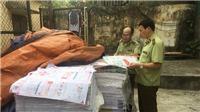 Hà Nội: Thu giữ số lượng lớn sách có dấu hiệu in lậu
