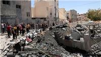 Xung đột Israel-Palestine: Máy bay Israel không kích dữ dội thành phố Gaza