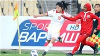 Tuyển nữ Việt Nam rất gần tấm vé dự VCK giải châu Á