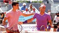 Carlos Alcaraz: Tìm cảm hứng quần vợt từ Nadal