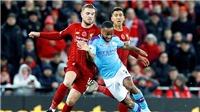 Trực tiếp bóng đá Man City vs Liverpool: Đại chiến cho hiện tại và tương lai. K+, K+PM trực tiếp