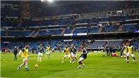 Real Madrid: Cuộc biểu tình ở Bernabeu