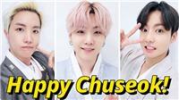Từ Mỹ, BTS gửi lời chúc Trung thu qua những bức ảnh đẹp trong bộ Hanbok