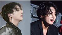 'Hút mắt' ngắm 25 hình ảnh mái tóc lượn sóng 'huyền thoại' của Jungkook BTS