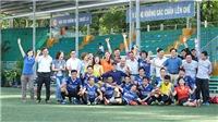 Thông tấn xã Việt Nam vào chung kết giải bóng đá Hội Nhà Báo TPHCM 2020