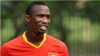 Cựu tuyển thủ Việt Nam trở lại V-League