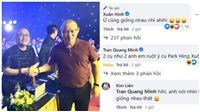 Nghệ sĩ Xuân Hinh đăng ảnh chụp cùng HLV Park Hang Seo, phản ứng khán giả gây chú ý