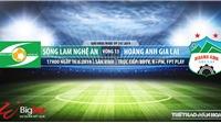 SLNA đấu với HAGL (17h, 16/6):Trực tiếp và soi kèo bóng đá V League 2019