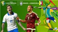 Soi kèo bóng đá Brazil vs Venezuela (7h30, 19/6). Trực tiếp bóng đá Copa America 2019