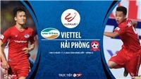 Soi kèo bóng đá Viettel vsHải Phòng. Trực tiếp bóng đá V- League 2020