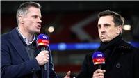 Liverpool vs MU: Neville và Carragher tranh cãi kịch liệt trước đại chiến