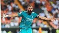 Valencia 1-2 Real Madrid: Vinicius và Benzema tỏa sáng, Real ngược dòng chiến thắng