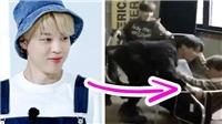 Loạt khoảnh khắc vui nhộn giữa Jimin BTS và 'mối thù truyền kiếp'
