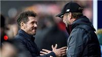 Klopp: 'Tôi tôn trọng nhưng không thích bóng đá của Diego Simeone'